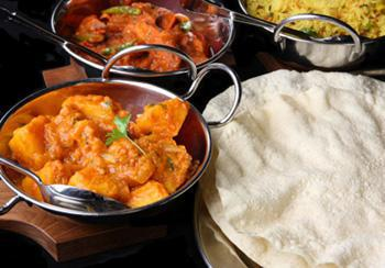 Curry Club - Sunday through Tuesday at Bombay Restaurant